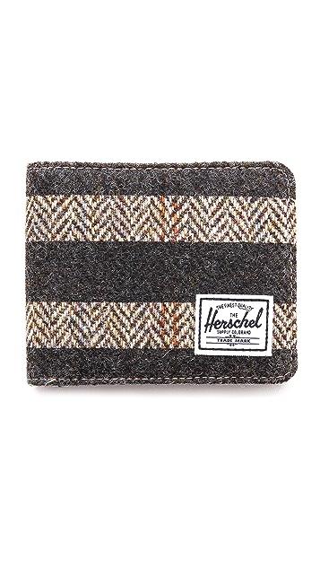 Herschel Supply Co. Hank Harris Tweed Bifold Wallet