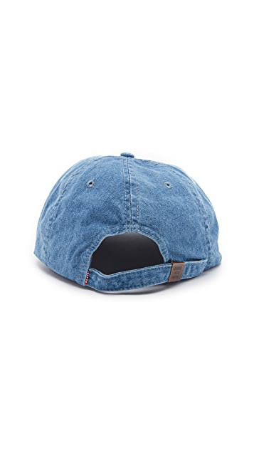 Herschel Supply Co. Faded Denim Albert Cap