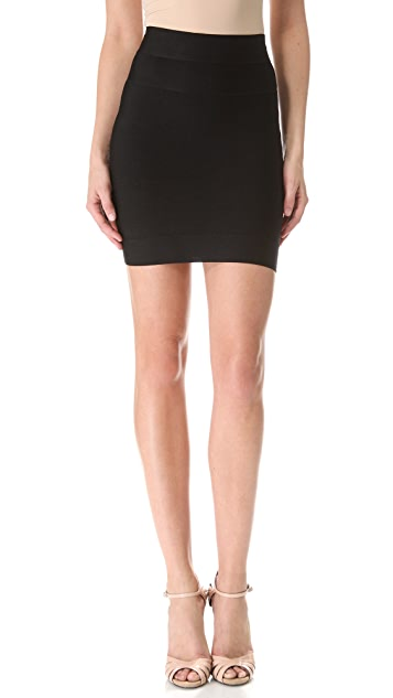 84dacbbee21a Herve Leger Signature Essentials Bandage Miniskirt
