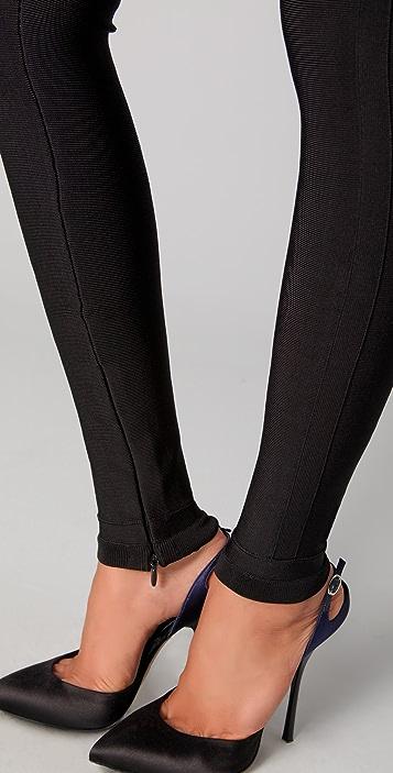 Herve Leger Signature Essentials Leggings