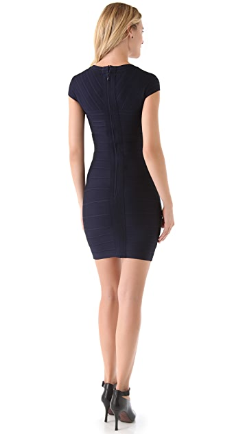Herve Leger Sweetheart Dress
