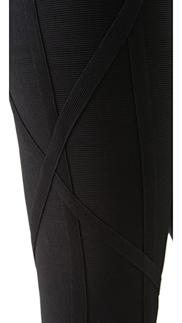 Herve Leger Signature Essentials Leggings