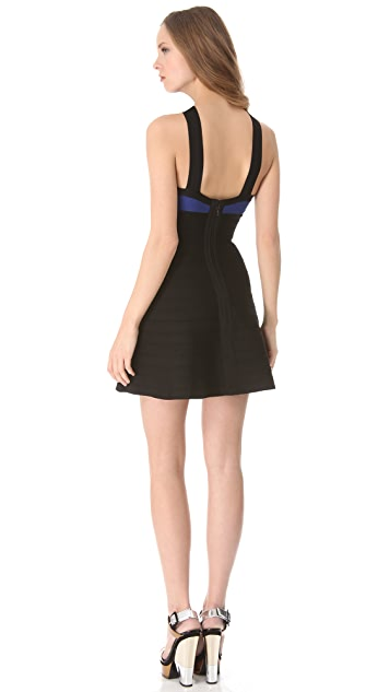 Herve Leger Addison Crossover Dress