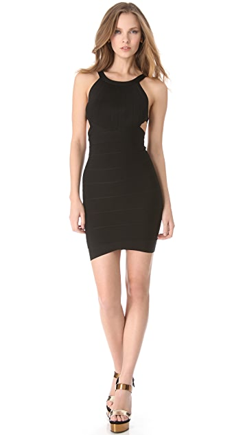 Herve Leger Zaria Mini Dress