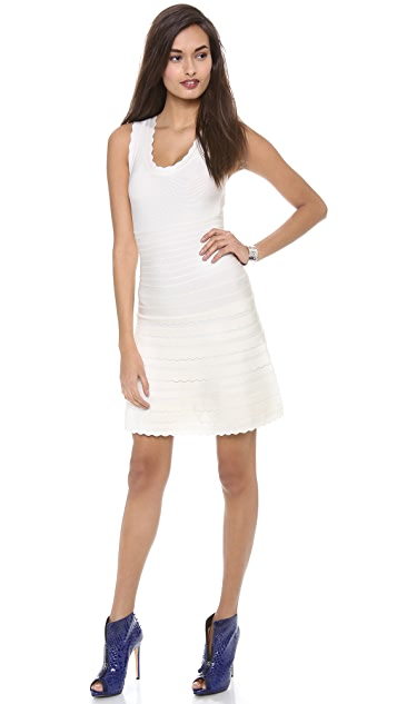 Herve Leger Jules Sleeveless Dress