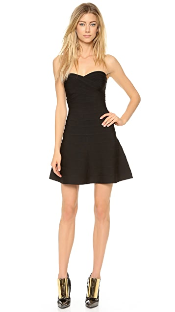 Herve Leger Kari Strapless Dress