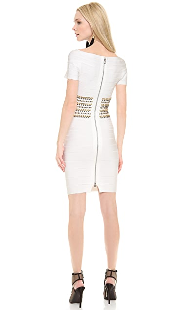 Herve Leger Carmen Cocktail Dress