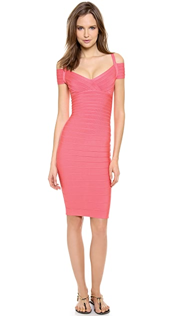 Herve Leger Kelis Cocktail Dress
