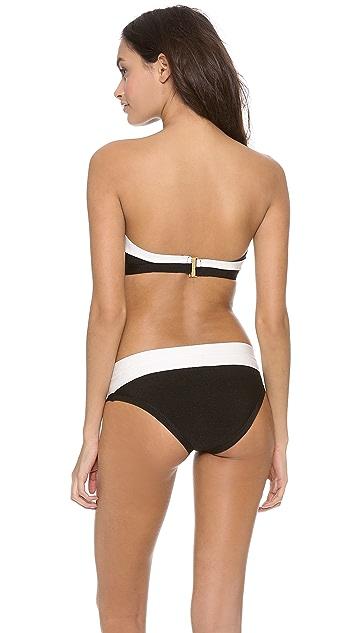 Herve Leger Erika Bandeau Bikini Set