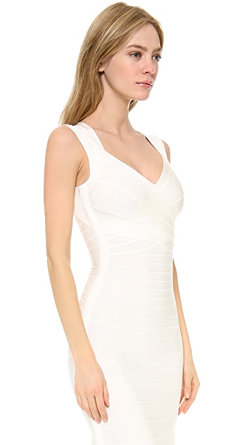 Herve Leger Extrella Gown