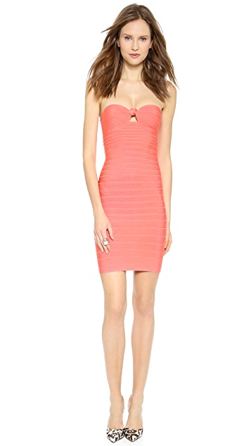 Herve Leger Arabella Strapless Dress