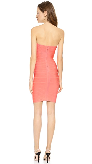 Herve Leger Arabella Strapless Dress