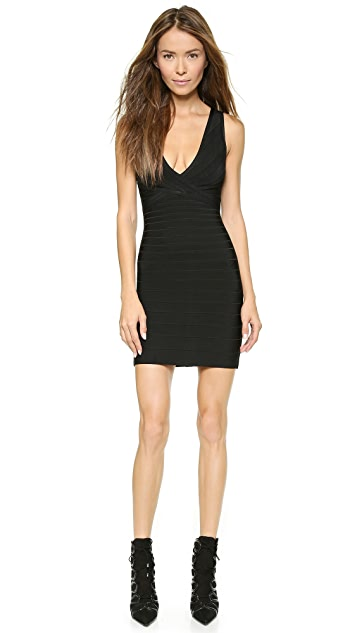 c95db3c26a9f Herve Leger Nadya Sleeveless Dress