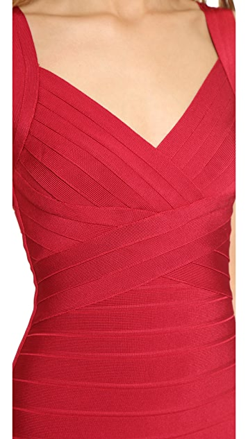 Herve Leger Kayin Gown