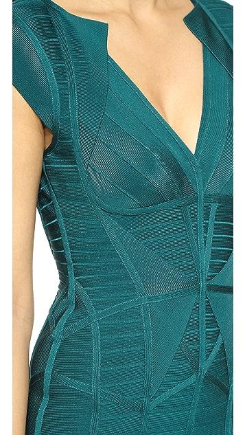 Herve Leger Penelope Bandage Dress
