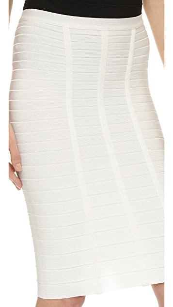 Herve Leger Sia Pencil Skirt