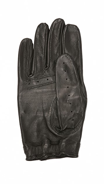 Hestra Steve Leather Moto Gloves