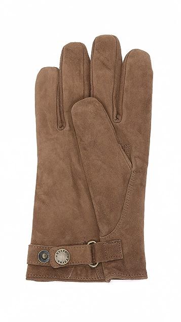Hestra Robert Wool Lined Suede Gloves