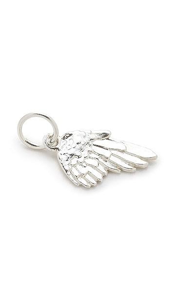 Helen Ficalora Angel Wing Charm