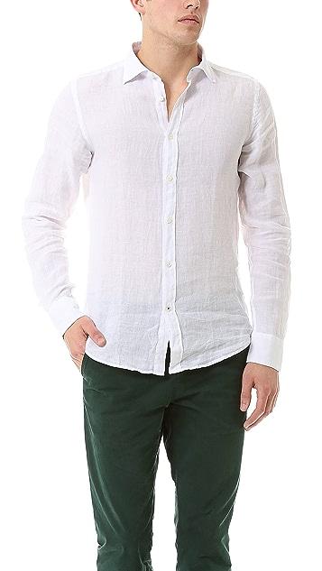 cca2946899 Slim Fit Linen Shirt