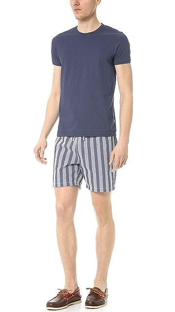 Hartford Seersucker Stripe Swim Trunks
