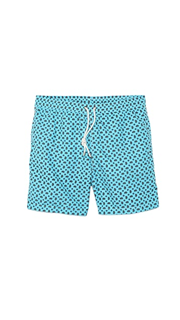 Hartford Paisley Swim Trunks