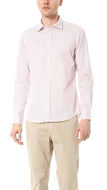 Hartford Paisley Sport Shirt