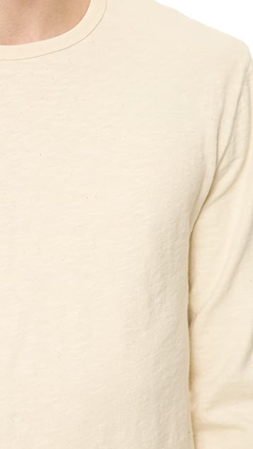 Hartford Slubbed Crew Neck Shirt