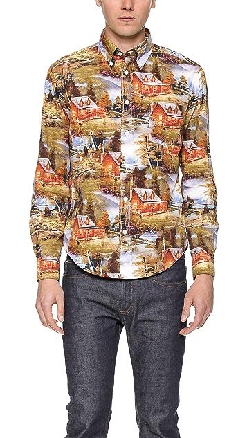 Hartford Pinup Mountain Shirt