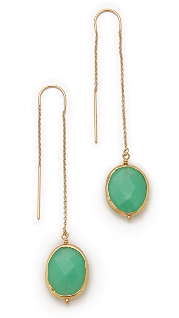 Heather Hawkins Chrysoprase Earrings
