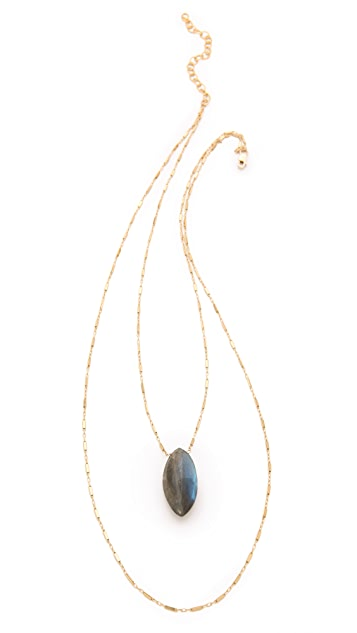 Heather Hawkins Gemstone Layered Necklace