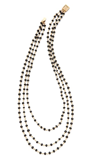 Heather Hawkins Tri-Layer Short Necklace