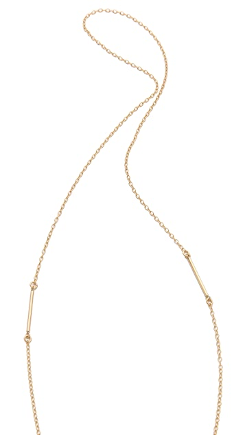 Heather Hawkins Orthsetris Long Pendant Necklace