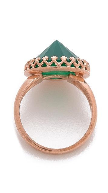 Heather Hawkins Splendor Spike Cut Ring