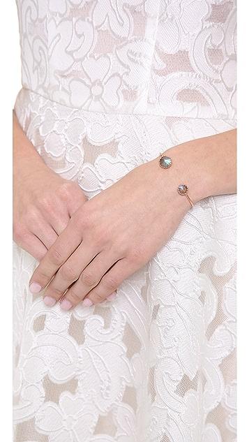 Heather Hawkins Splendor Spike Cut Bangle Bracelet