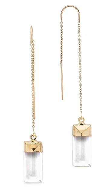 Heather Hawkins Baguette Threader Earrings