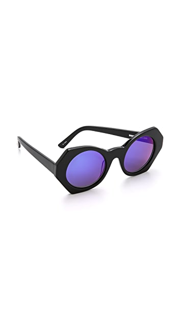 House of Holland Hexographic Sunglasses
