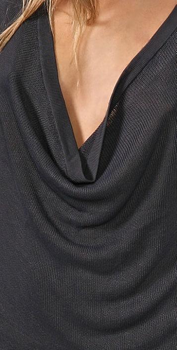 Helmut Lang Cowl Neck Sweater
