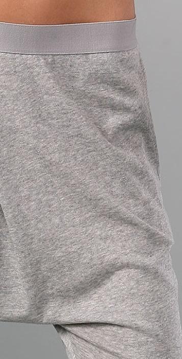 Helmut Lang Crop Harem Pants