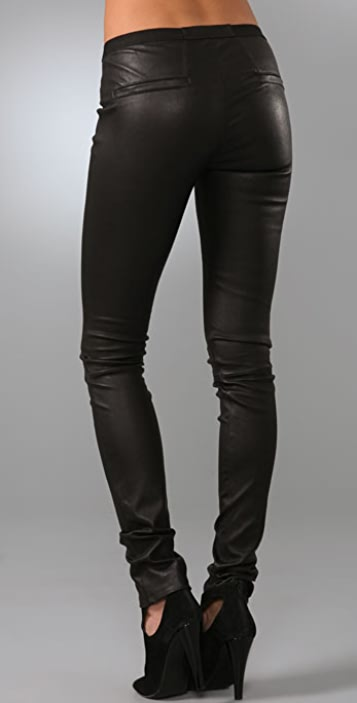 Helmut Lang Skinny Leather Pants