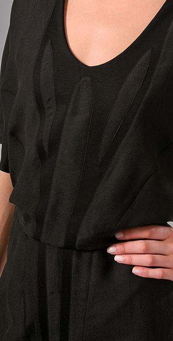 Helmut Lang Pavement Combo Dress
