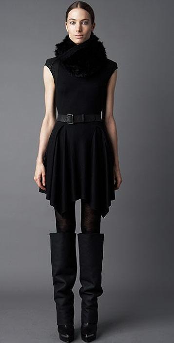 Helmut Lang Lace Back Dress