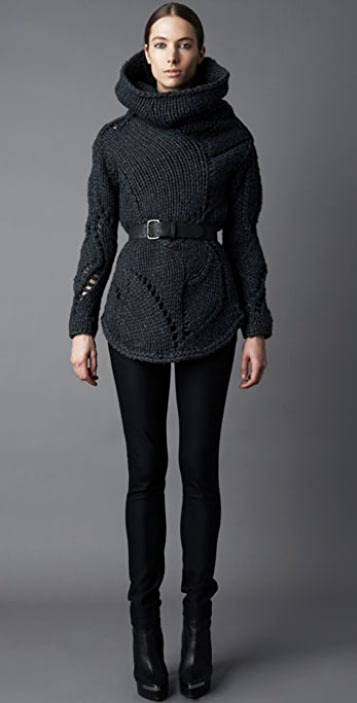 Helmut Lang Chunky Turtleneck Sweater