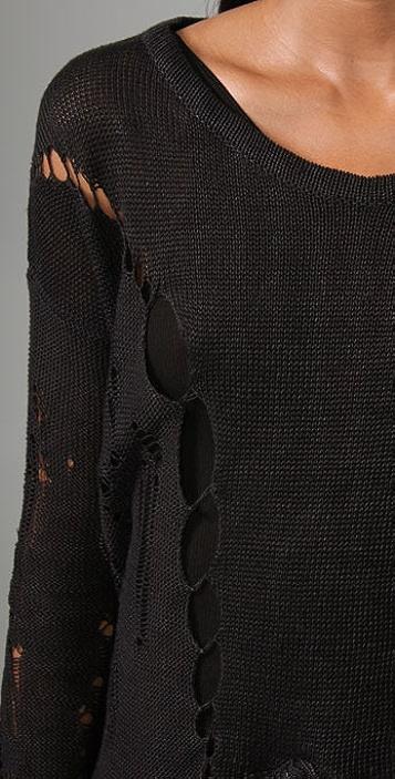 Helmut Lang Crop Sweater