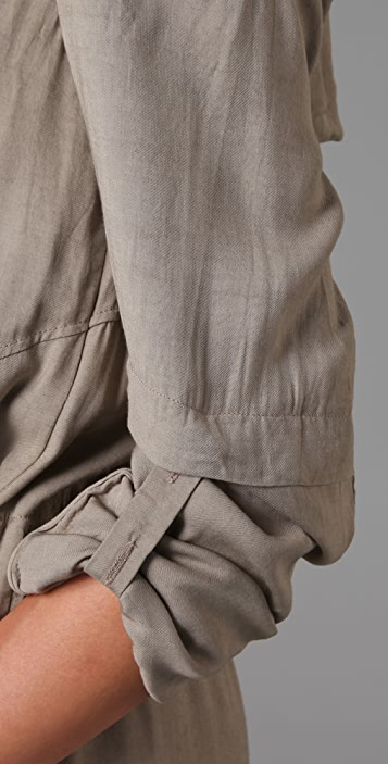 Helmut Lang Sequence Trench Coat