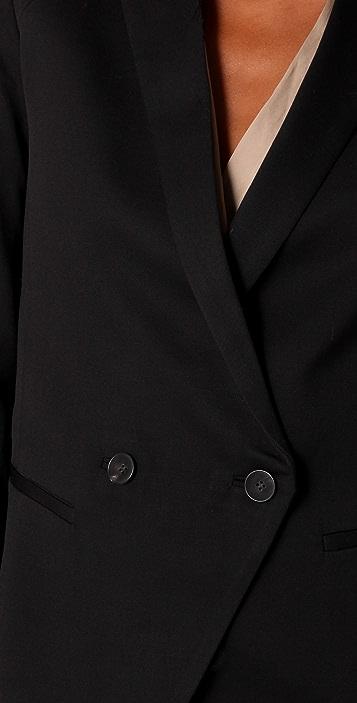 Helmut Lang Rolled Sleeve Blazer