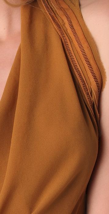 Helmut Lang Asymmetrical Hem Dress