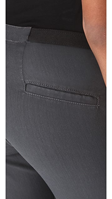 Helmut Lang Waxed Denim Leggings