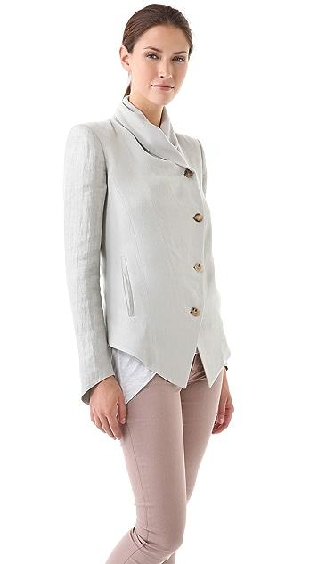 Helmut Lang Plexus Shawl Jacket