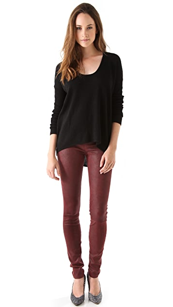 Helmut Lang Cheyenne Leather Leggings